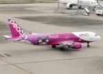 voyagerさんが、羽田空港で撮影したピーチ A320-214の航空フォト(飛行機 写真・画像)