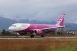 テクストTPSさんが、松山空港で撮影したピーチ A320-214の航空フォト(写真)