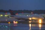 上井エルマさんが、成田国際空港で撮影したデルタ航空 747-451の航空フォト(写真)