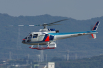 yabyanさんが、名古屋飛行場で撮影した中日本航空 AS350B Ecureuilの航空フォト(飛行機 写真・画像)