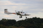 mahiちゃんさんが、調布飛行場で撮影した日本法人所有 DA42 TwinStarの航空フォト(写真)