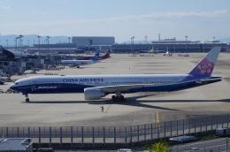 SSB46さんが、関西国際空港で撮影したチャイナエアライン 777-309/ERの航空フォト(飛行機 写真・画像)