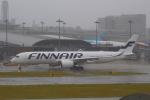 おみずさんが、関西国際空港で撮影したフィンエアー A350-941XWBの航空フォト(写真)