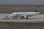 おみずさんが、関西国際空港で撮影した春秋航空 A320-214の航空フォト(写真)
