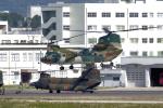 yabyanさんが、名古屋飛行場で撮影した航空自衛隊 CH-47J/LRの航空フォト(写真)