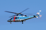 yabyanさんが、名古屋飛行場で撮影した福島県警察 A109E Powerの航空フォト(飛行機 写真・画像)