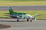 yabyanさんが、名古屋飛行場で撮影した日本法人所有 C90A King Airの航空フォト(写真)