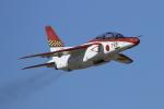 isiさんが、浜松基地で撮影した航空自衛隊 T-4の航空フォト(写真)