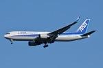 柏の子?さんが、成田国際空港で撮影した全日空 767-381/ERの航空フォト(写真)