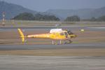 神宮寺ももさんが、広島空港で撮影したオールラウンドヘリコプター AS350B Ecureuilの航空フォト(写真)