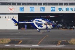 ぽんさんが、高松空港で撮影した徳島県消防防災航空隊 BK117C-2の航空フォト(写真)
