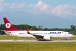 菊池 正人さんが、ジュネーヴ・コアントラン国際空港で撮影したターキッシュ・エアラインズ 737-8F2の航空フォト(写真)