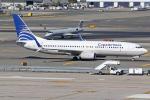 Double_Hさんが、ジョン・F・ケネディ国際空港で撮影したコパ航空 737-8V3の航空フォト(写真)