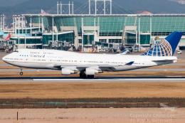Toaruさんが、仁川国際空港で撮影したユナイテッド航空 747-422の航空フォト(飛行機 写真・画像)