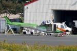 あきらっすさんが、調布飛行場で撮影した群馬県防災航空隊 412EPの航空フォト(写真)