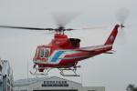 w_h1011さんが、群馬ヘリポートで撮影した静岡市消防航空隊 412EPの航空フォト(写真)