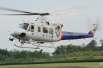 w_h1011さんが、群馬ヘリポートで撮影した福島県消防防災航空隊 412EPの航空フォト(写真)