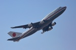ペア ドゥさんが、千歳基地で撮影した航空自衛隊 747-47Cの航空フォト(写真)