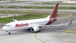 誘喜さんが、クアラルンプール国際空港で撮影したマリンド・エア 737-8GPの航空フォト(写真)