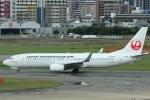 Gpapaさんが、福岡空港で撮影した日本トランスオーシャン航空 737-8Q3の航空フォト(写真)
