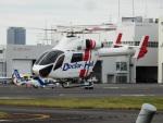 TUILANYAKSUさんが、東京ヘリポートで撮影した朝日航洋 MD-900 Explorerの航空フォト(写真)