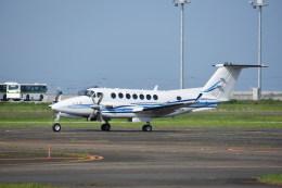 kumagorouさんが、仙台空港で撮影した電子航法研究所 B300の航空フォト(写真)