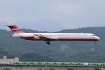 matatabiさんが、台北松山空港で撮影した遠東航空 MD-82 (DC-9-82)の航空フォト(写真)