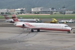 matatabiさんが、台北松山空港で撮影した遠東航空 MD-83 (DC-9-83)の航空フォト(写真)