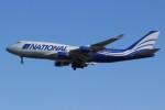 マリオ先輩さんが、横田基地で撮影したナショナル・エア・カーゴ 747-428(BCF)の航空フォト(写真)