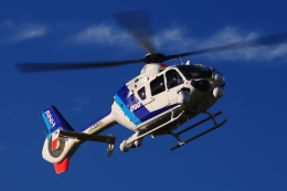 SAMBAR-2463さんが、群馬ヘリポートで撮影したオールニッポンヘリコプター EC135T2の航空フォト(飛行機 写真・画像)