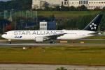 あしゅーさんが、福岡空港で撮影した全日空 767-381/ERの航空フォト(写真)