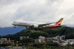 ansett767ksさんが、福岡空港で撮影したアシアナ航空 A350-941XWBの航空フォト(写真)