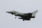 元青森人さんが、三沢飛行場で撮影したイギリス空軍 Eurofighterの航空フォト(写真)