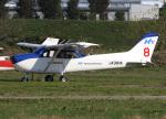 voyagerさんが、ホンダエアポートで撮影した本田航空 172S Skyhawk SPの航空フォト(飛行機 写真・画像)