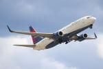 でるちん⊿さんが、ハーツフィールド・ジャクソン・アトランタ国際空港で撮影したデルタ航空 737-832の航空フォト(写真)