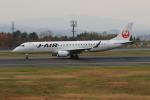 marariaさんが、青森空港で撮影したジェイ・エア ERJ-190-100(ERJ-190STD)の航空フォト(写真)