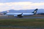 marariaさんが、青森空港で撮影したキャセイパシフィック航空 A330-343Xの航空フォト(写真)