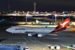 よしポンさんが、羽田空港で撮影したカンタス航空 747-48Eの航空フォト(写真)