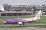 安芸あすかさんが、ドンムアン空港で撮影したノックエア 737-8ASの航空フォト(写真)