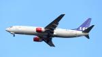 誘喜さんが、フランクフルト国際空港で撮影したスカンジナビア航空 737-883の航空フォト(写真)
