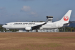 ぶる~すかい。さんが、広島空港で撮影した日本航空 737-846の航空フォト(写真)