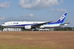 ぶる~すかい。さんが、広島空港で撮影した全日空 777-281/ERの航空フォト(写真)