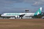 ぶる~すかい。さんが、広島空港で撮影したエアソウル A321-231の航空フォト(写真)
