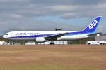 ぶる~すかい。さんが、広島空港で撮影した全日空 767-381の航空フォト(写真)