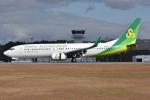 ぶる~すかい。さんが、広島空港で撮影した春秋航空日本 737-81Dの航空フォト(写真)