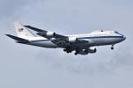 kon chanさんが、嘉手納飛行場で撮影したアメリカ空軍 E-4B (747-200B)の航空フォト(写真)