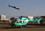 LOTUSさんが、神戸ヘリポートで撮影した兵庫県消防防災航空隊 BK117C-2の航空フォト(写真)