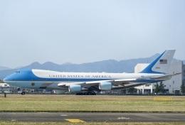 DYNASTYさんが、横田基地で撮影したアメリカ空軍 VC-25A (747-2G4B)の航空フォト(飛行機 写真・画像)