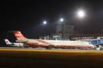 プルシアンブルーさんが、秋田空港で撮影した遠東航空 MD-83 (DC-9-83)の航空フォト(写真)