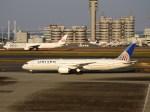 よんすけさんが、羽田空港で撮影したユナイテッド航空 787-9の航空フォト(写真)